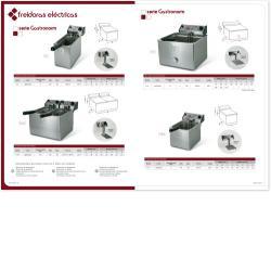 Freidora Electrica Gastronorm 8+8 lts. GAYC