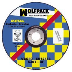 DISCO WOLFPACK REPASAR 178X6,4X22