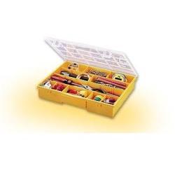 Caja clasificación 17 compartimentos amarillos.STACK ON