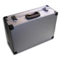 Maletin Portaherramientas Aluminio Plata