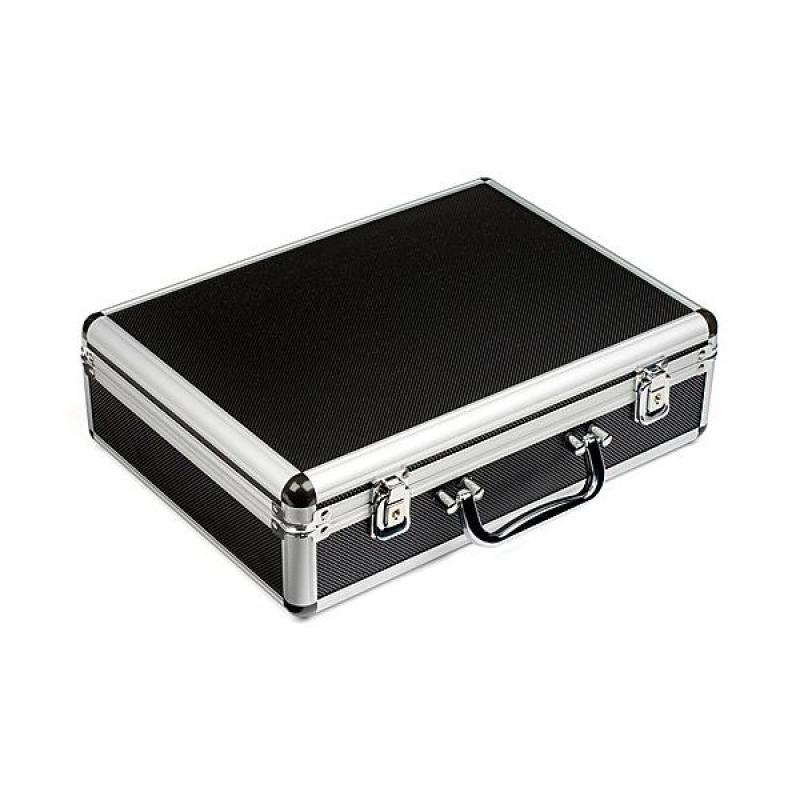 Maletin portaherramientas aluminio negro - Maletin de aluminio para herramientas ...