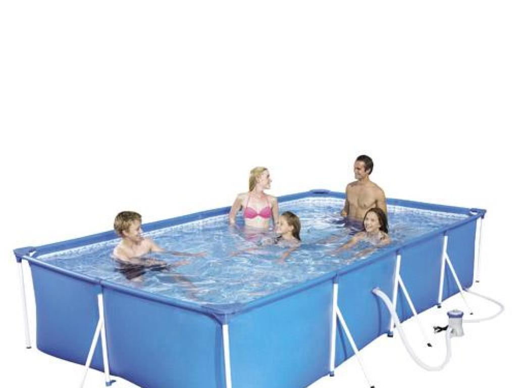 Piscina portatil 5700 litros bestway for Piscina portatil