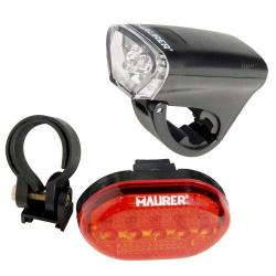 LINTERNA MAURER LED KIT BICICLETA