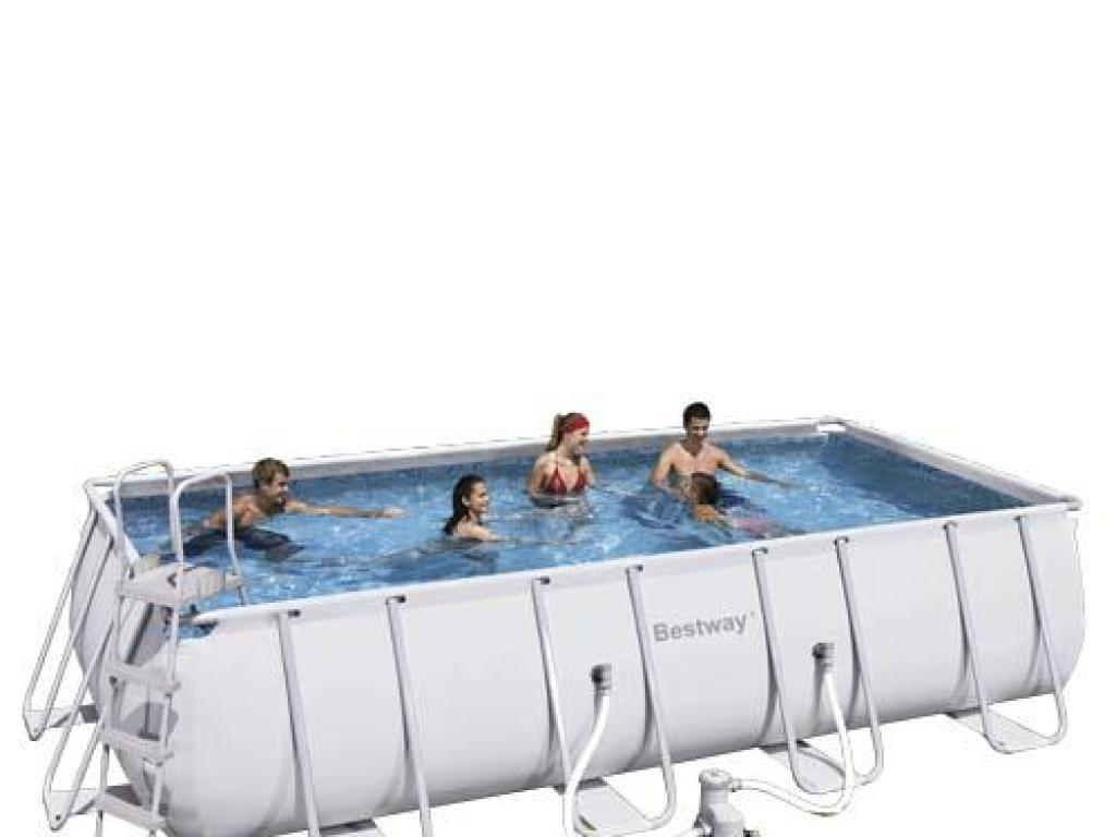 piscina rectangular portatil 549x274x122 bestway On piscina portatil rectangular