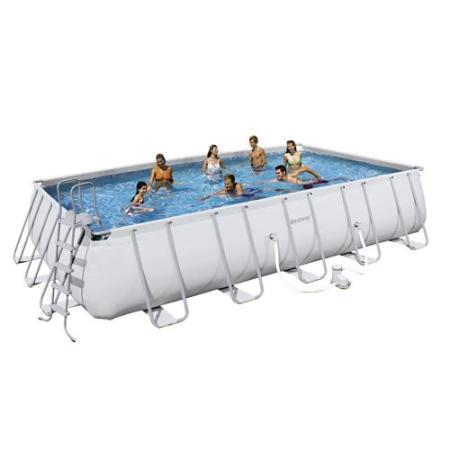 Piscina portatil para jardin 671x366x132 bestway for Piscina portatil grande