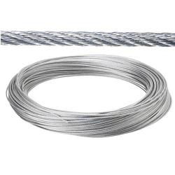 CABLE GALVANIZADO 4 MM.   (ROLLO 25 METROS) NO ELEVACION