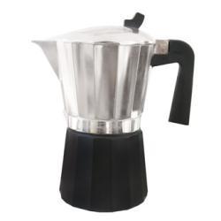 Cafetera aluminio especial inducción.OROLEY