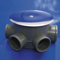 BOTE SIFÓNICO PVC T - 85 - C 110  50 - 40 ALTURA 69MM