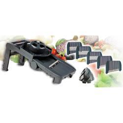 Mandolina Plastico 5 Cuchillas y Exprimidor LACOR