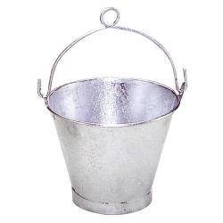 Cubo galvanizado cónico con anilla 35,0x26cm de 14 litros y 14