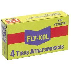 ATRAPAMOSCAS FLY - KOL  (ESTUCHE 4 TIRAS)