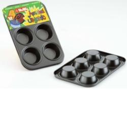 Molde Muffin 6 Cavidades Mini.Serie Moka.IBILI