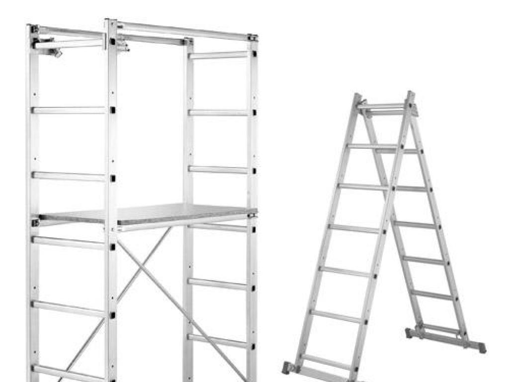 Andamio escalera multifucion aluminio en131 aft - Escalera andamio aluminio ...