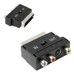 EUROCONECTOR / RCA / MINIDIN 4 PINS