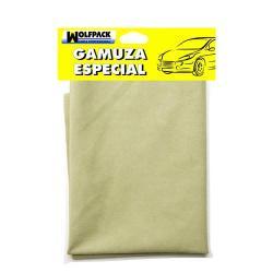 GAMUZA ESPECIAL CRISTALES PROFESIONAL 40X60 CM.  WOLFPACK