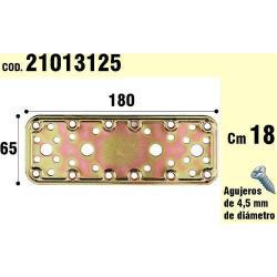 SOPORTE PARA MADERA PLACA BICROMATADA 65X180