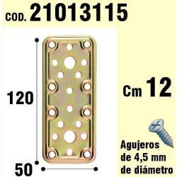 SOPORTE PARA MADERA PLACA BICROMATADA    50X120
