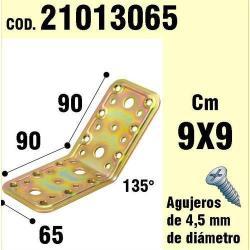 SOPORTE PARA MADERA ÁNGULO 65X 90X 90/135°