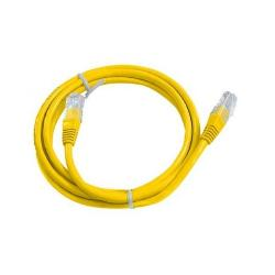 LATIGUILLO CABLE RED AMARILLO UTP CAT 5 1.8M FYH