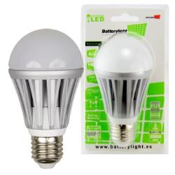 BATTERYLIGHT BOMBILLA LED A60 E27 8W 6500K
