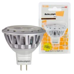 BATTERYLIGHT LED SPOT LIGHT 12V 4W 230LM MR16 CW