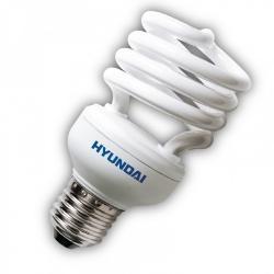 HYUNDAI LAMPARA BAJO CONSUMO 20W ESPIRAL 2700K