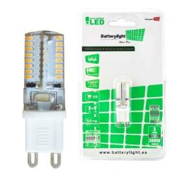 BATTERYLIGHT LED BIPIN G9 3W 250LM CW