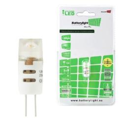 BATTERYLIGHT LED  BIPIN G4 1,5W 180 LM WW