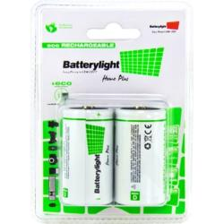BATTERYLIGHT BATERIA ECORECARGABLE D (PACK 2)