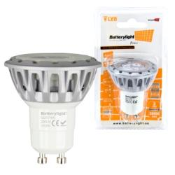 BATTERYLIGHT LED SPOT LIGHT 4W 230LM GU10 WW