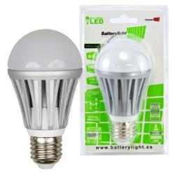 BATTERYLIGHT LED A60 8W 500LM E27 WW