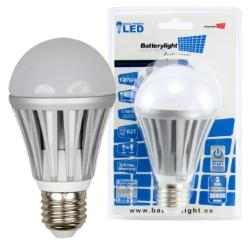BATTERYLIGHT LED A70 12W 1050LM E27 CW