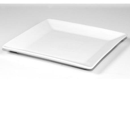 Platos cuadrados porcelana serie ming viejovalle for Platos cuadrados de porcelana