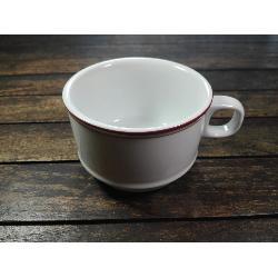 COSTAVERDE TAZA CAFE CON LECHE CASTILLO INGLES ROJO