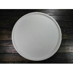 PLATO PIZZA 38 CMS. BLANCO