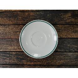 PORVASAL FILO VERDE PLATO 221 CAFE 13.5CM