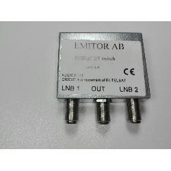 REPARTIDOR SPLITTER 1 ENTRADA-2 SALIDAS 5-1000MHZ