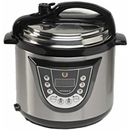 Olla presion electrica 6 lts gm for Robot de cocina fussioncook