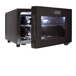 Armario Refrigerador - Vinoteca 8 botellas.Serie Black Line.LACOR