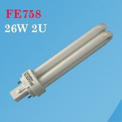 EXTRASTAR LAMPARA PLC 2U-2PIN 26 W. 6400K
