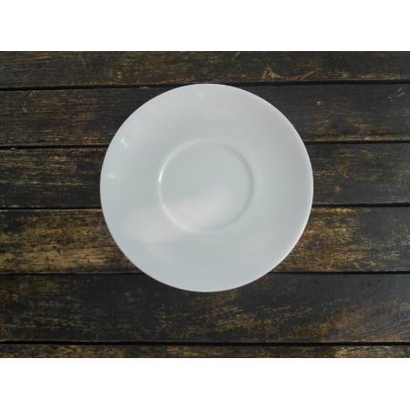 Plato taza te caldo porcelana blanca cim for Platos porcelana blanca