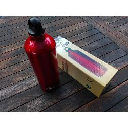 ENDERS BOTELLA ALUMINIO ROJO 1000 ML.