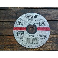 WOLCRAFT DISCO DE CORTAR METALES 125X3,0X13MM