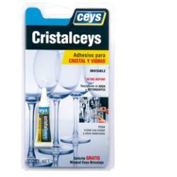 CEYS Cristalceys Adhesivo para cristal