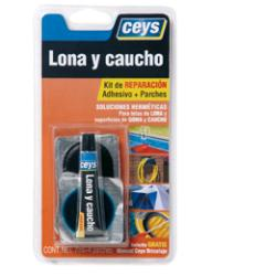 Lonas y Caucho.Adhesivo Reparador.CEYS