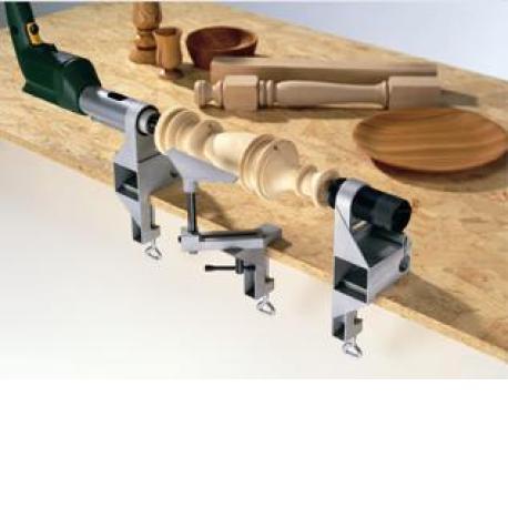 Wolfcraft torno de madera para taladro 4821000 - Taladro de la madera ...