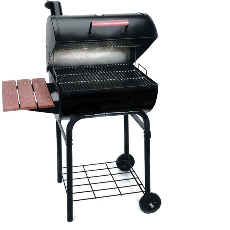 Barbacoa carbon le a con tapa charcoal 1 - Barbacoas con tapa ...