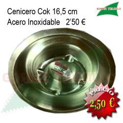Cenicero Inoxidable 16 cms.COK