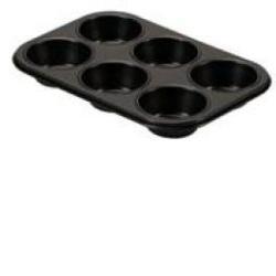 Molde Antiadherente 6 Cavidades Muffins.GUARDINI