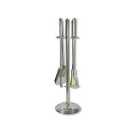 Soporte 4 accesorios para chimenea acero inoxidable - Accesorios para chimeneas ...